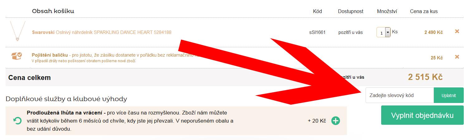 sperky.cz slevový kupon