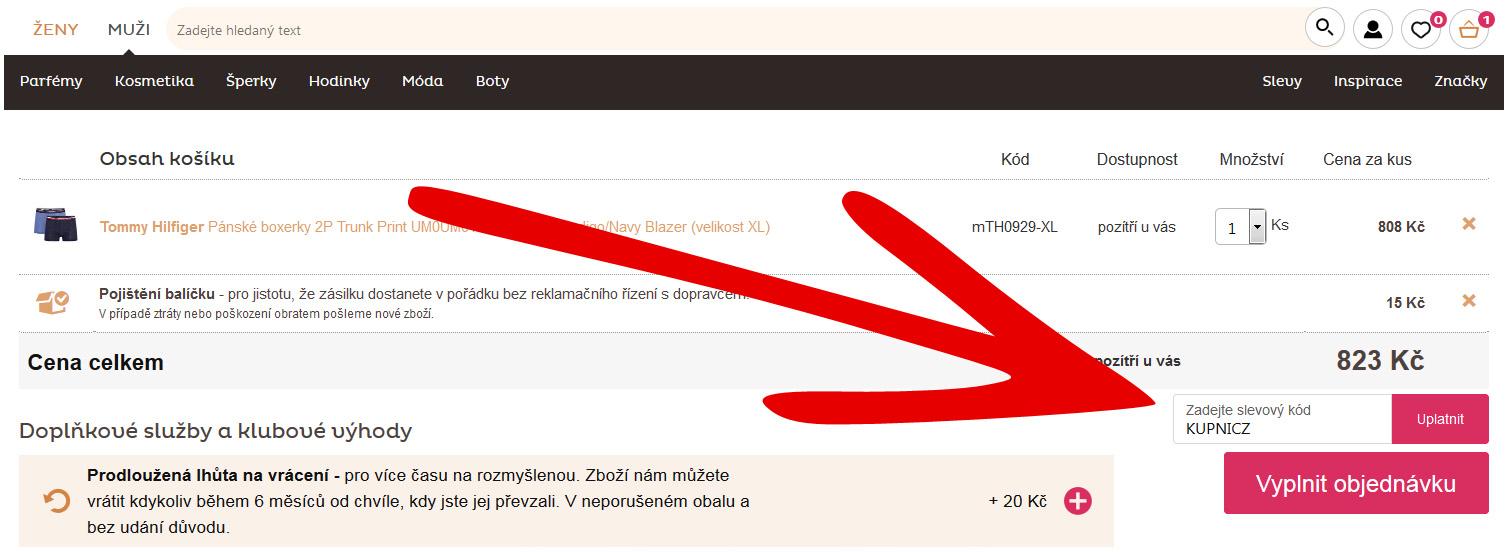 Vivantis.cz slevový kupón