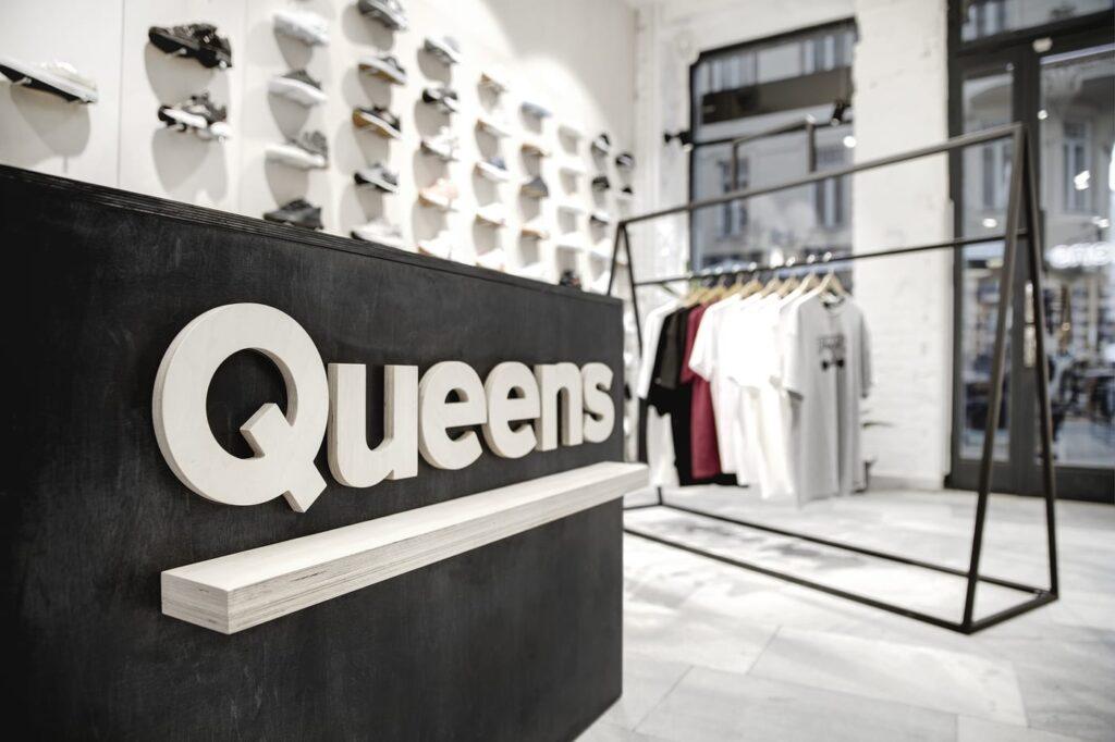 Kamenná prodejna queens